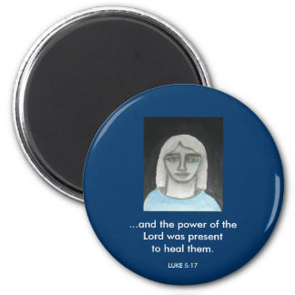 THE POWER OF THE LORD 2 INCH ROUND MAGNET
