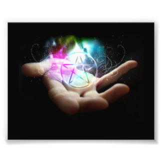 The power of the pentacle photo print
