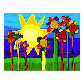 'the power of the sun' postcard