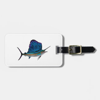 THE POWER SAIL LUGGAGE TAG