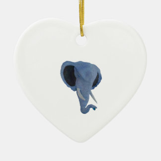THE POWERFUL ONE CERAMIC HEART ORNAMENT