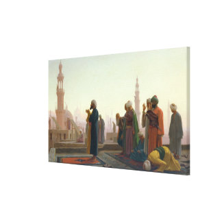 The Prayer, 1865 Stretched Canvas Print
