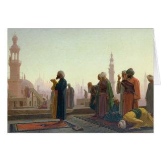 The Prayer, 1865 Card
