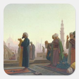 The Prayer 1865 Square Sticker
