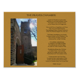 THE PRAYER CHAMBER POEM POSTER
