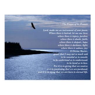 The Prayer of St. Francis Postcard