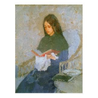 The Precious Book by Gwen John Postcard
