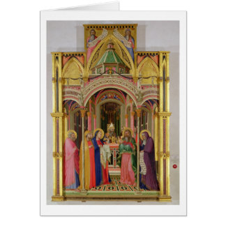 The Presentation in the Temple, 1342 (tempera on p Card