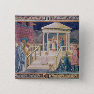 The Presentation of the Blessed Virgin Mary 2 Inch Square Button