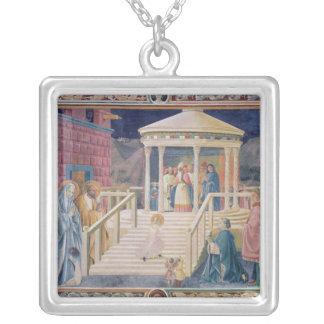 The Presentation of the Blessed Virgin Mary Silver Plated Necklace