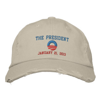The President 1/21/13 Inauguration Day Embroidered Hat