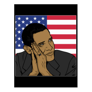 The President Barack Obama Post Card