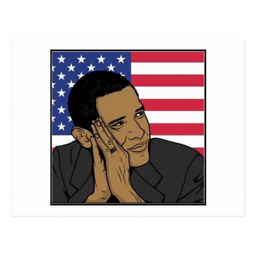 The President Barack Obama Postcard