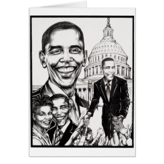 The President - Greeting Card