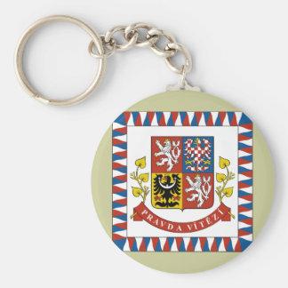 the president theech Republic, Czech Keychain
