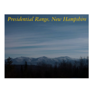 The Presidentials Postcard