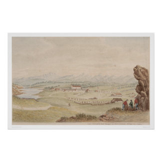 The Presidio and Pueblo of Monterey (1104) Poster