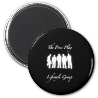 The Press  Play LifeStyle Group Magnet