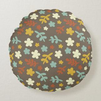 The Pretty Garden Round Pillow