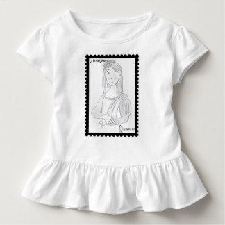 The pretty Luisa (dressed in steering wheels) Toddler T-shirt