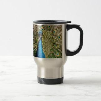 The Pretty Peacock Travel Mug
