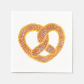 The Pretzel Paper Napkin