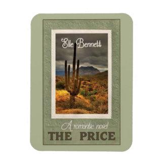 The Price: A Romantic Novel by Elle Bennett Rectangular Photo Magnet