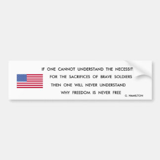 THE PRICE BUMPER STICKER