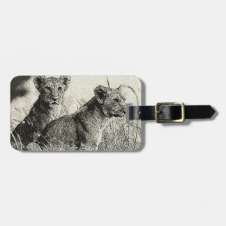 The pride Hand Drawing Luggage Tag