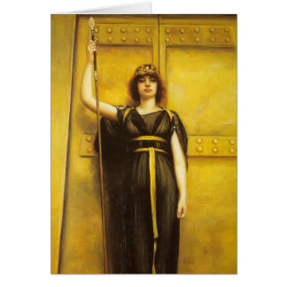 The Priestess Fine Art Card