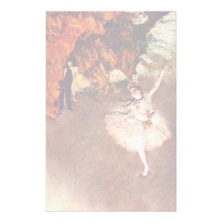 The Prima Ballerina (Rosita Mauri) By Edgar Degas Customized Stationery