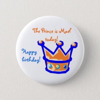 the prince is 2 inch round button