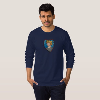 The Prince is in the Castle - small crest T-Shirt