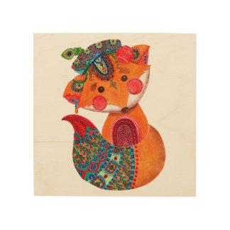 The Prince of Fox Wood Print