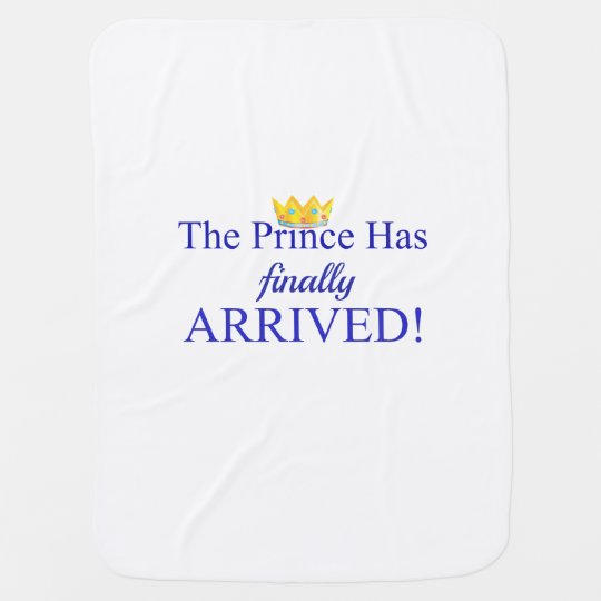 The Prince Receiving Blankets