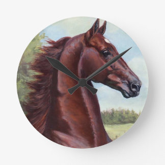 The Prince (WC Merchant Prince by JNS Fine Art Wall Clock