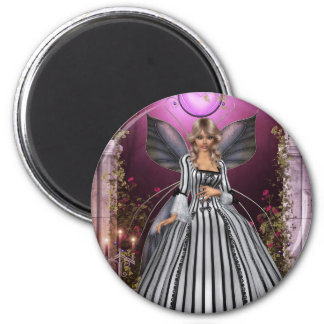 The Princess 2 Inch Round Magnet