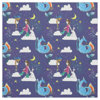 The Princess and the Skymaid Fabric