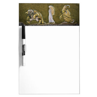 The Princess and the Trolls Dry Erase White Board