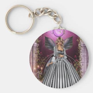 The Princess Basic Round Button Keychain