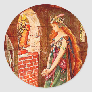 The Princess Imprisoned Classic Round Sticker