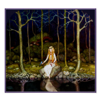 The Princess in the Forest Poster