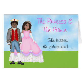 The Princess, Prince and Unicorn Birthday Card