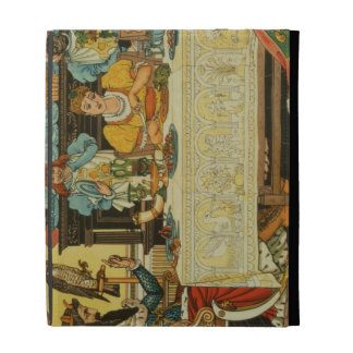 The Princess Shares her Dinner with the Frog, from iPad Folio Case