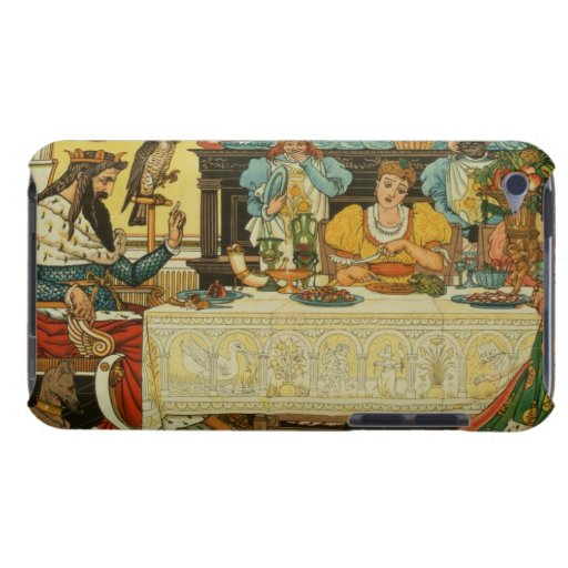 The Princess Shares her Dinner with the Frog, from Barely There iPod Case