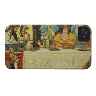 The Princess Shares her Dinner with the Frog, from iPhone 4 Case-Mate Cases