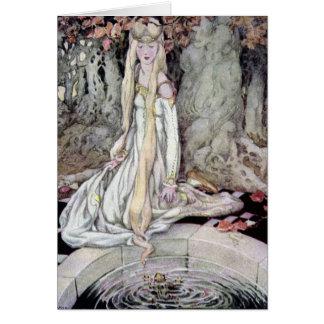The Princess & The Frog Prince - Card