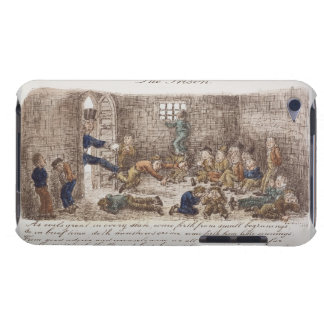The Prison, 1858 (coloured engraving) iPod Touch Case-Mate Case