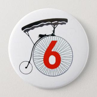 The Prisoner Number 6 4 Inch Round Button