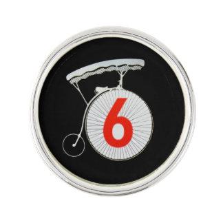 The Prisoner Number 6 Lapel Pin